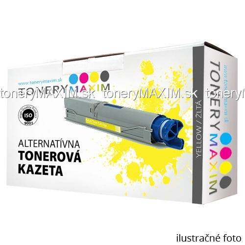 Toner OKI 43459329 Yellow - alternatívny toner